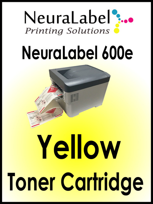 NeuraLabel 600e Yellow Toner Cartridge