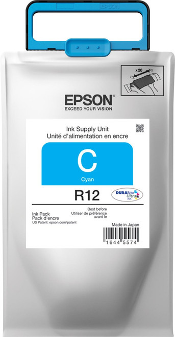 Epson R12 STANDARD CYAN INK WORKFORCE R5190/R5690 - TR12220