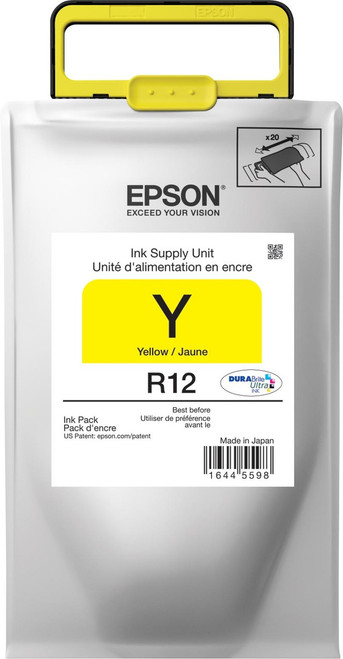 Epson R12 STANDARD YELLOW INK WORKFORCE R5190/R5690