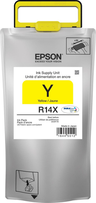 Epson R14X Yellow Ink Pack  Extra High Capacity - WORKFORCE R5190/R5690