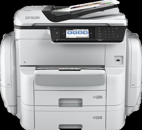 Epson WorkForce Pro C869R Large Bundle Printer
