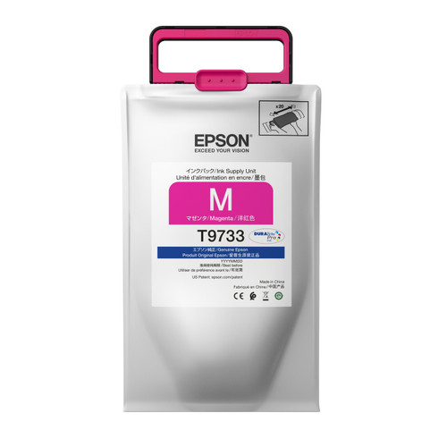 Epson T973 High-capacity DURABrite Pro Ink packs MAGENTA INK SUPPLY WF-C869R