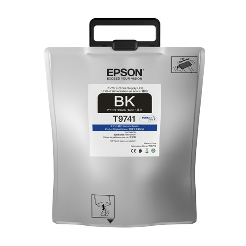 Epson T974 High-capacity DURABrite Pro BLACK INK SUPPLY WF-C869R