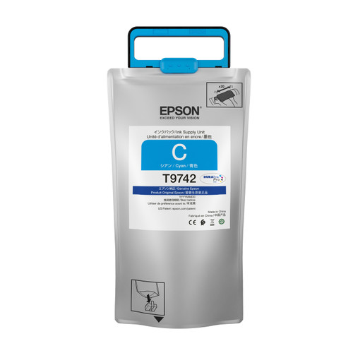Epson T974 High-capacity DURABrite Pro CYAN INK SUPPLY WF-C869R