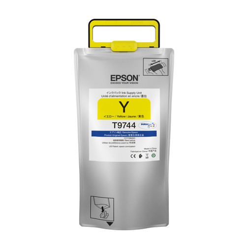 Epson T974 High-capacity DURABrite Pro YELLOW INK SUPPLY WF-C869R