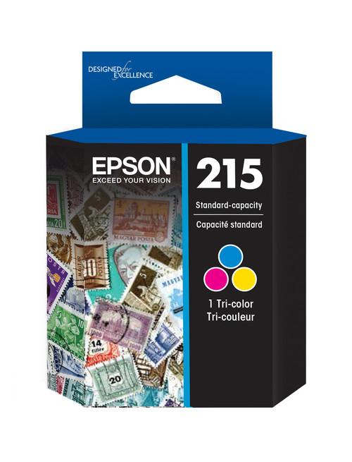 Epson 215 Tri-Color Ink Cartridge for WorkForce WF-100/WF-C110 Mobile Printer (T215530)