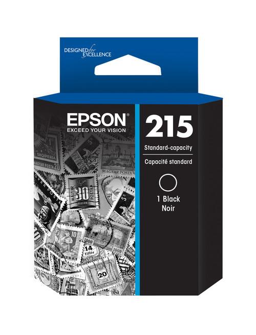 Epson 215 Black Ink Cartridge for WorkForce WF-100 Mobile Printer (T215120-S)