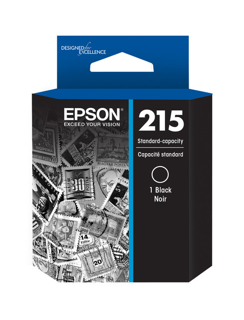 Epson 215 Black Ink Cartridge for WorkForce WF-100 Mobile Printer (T215120-S)