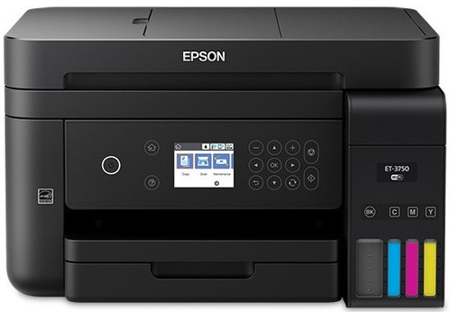 Epson WorkForce ET-3750 EcoTank All-in-One Printer