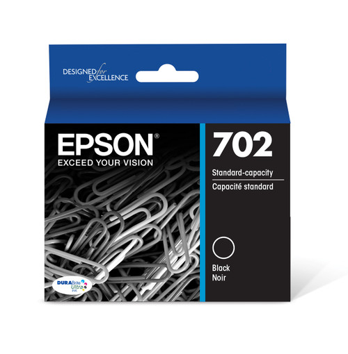 Epson DURABrite Ultra Black Ink Cartridge with Sensormatic WF-3720