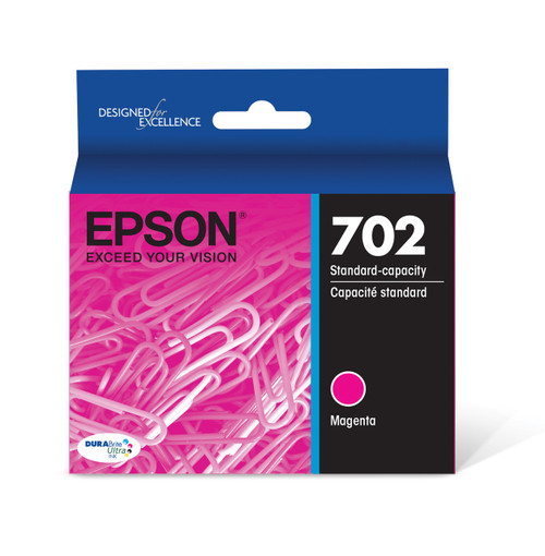 Epson DURABrite Ultra Magenta Ink Cartridge with Sensormatic WF-3720