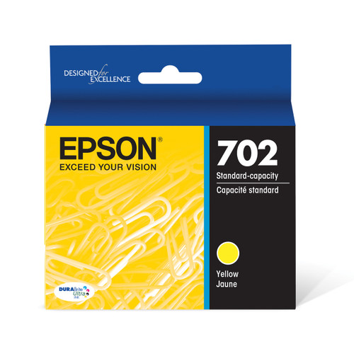 Epson DURABrite Ultra Yellow Ink Cartridge with Sensormatic WF-3720