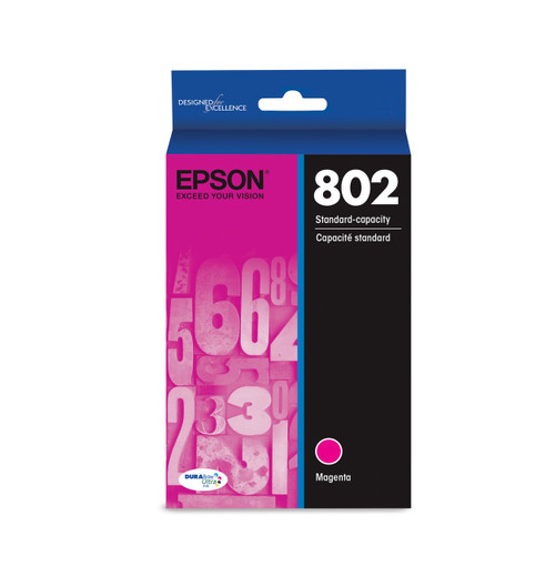 Epson 802 Standard Magenta Ink, 650 pages T802320-S