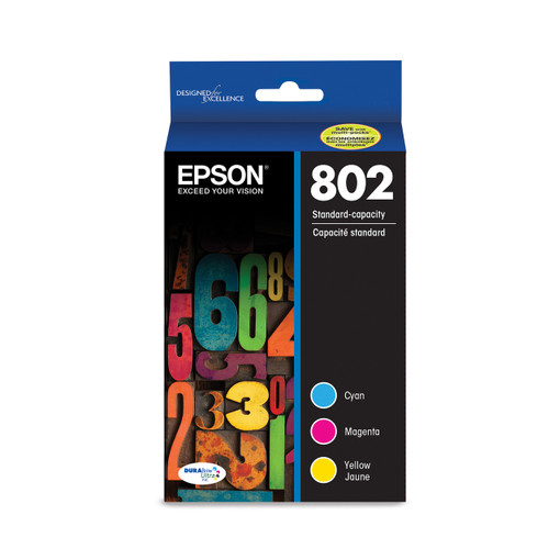 Epson DURABrite Ultra Color Multipack Ink Cartridge Combo Sensormatic WorkForce Pro WF-4720/4730/4740