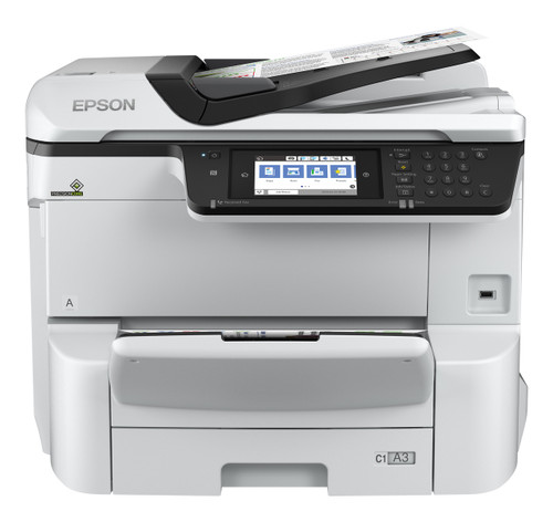 Epson WorkForce Pro WF-C8690 Color Multifunction Printer (C11CG68201)