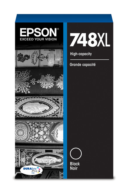 Epson WorkForce Pro 748 High Capacity Black Ink for WF-6090/6530/6590