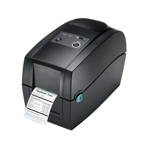 "Godex RT200i 2"" Thermal Transfer Barcode Printer with Color Display, 203 dpi, 7 ips"