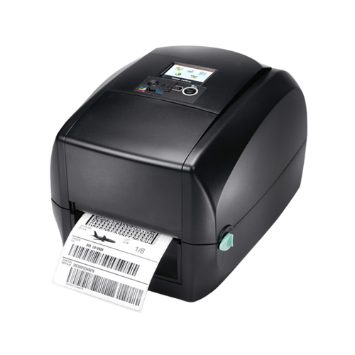"Godex RT730iW 4"" Thermal Transfer Barcode Printer Color Display, 300dpi, 5 ips"