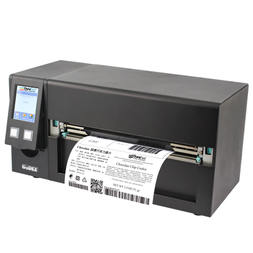"Godex HD830i 8"" Thermal Transfer Barcode Printer, 300 dpi, 4 ips"