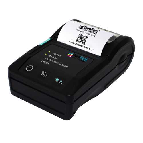 "Godex MX20 2"" Direct Thermal Barcode Mobile Printer, 203 dpi, 4 ips"