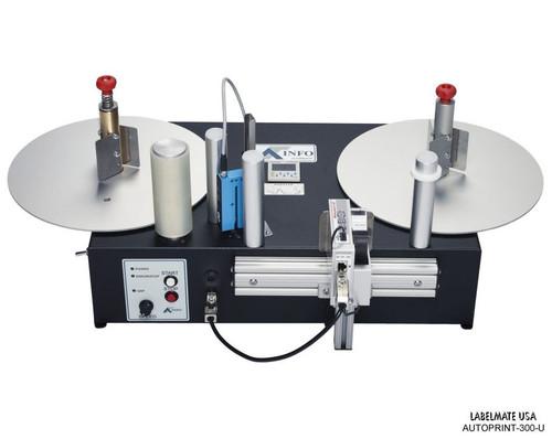 "LabelMate Reel-To-Reel Ultrasonic High Speed ""OFF-LINE"" Printer (AUTOPRINT-300-U )"