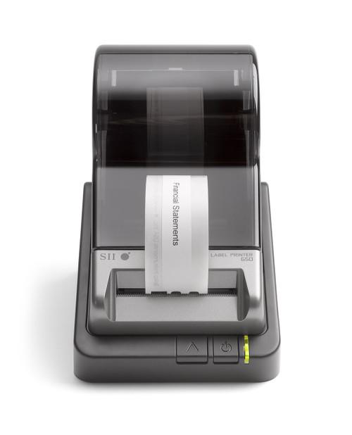 Seiko Smart Label Printer 650, printing label