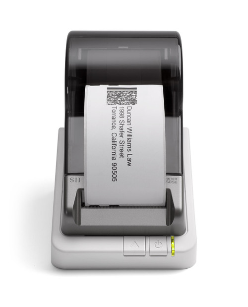Seiko Smart Label Printer 650 SE printing label