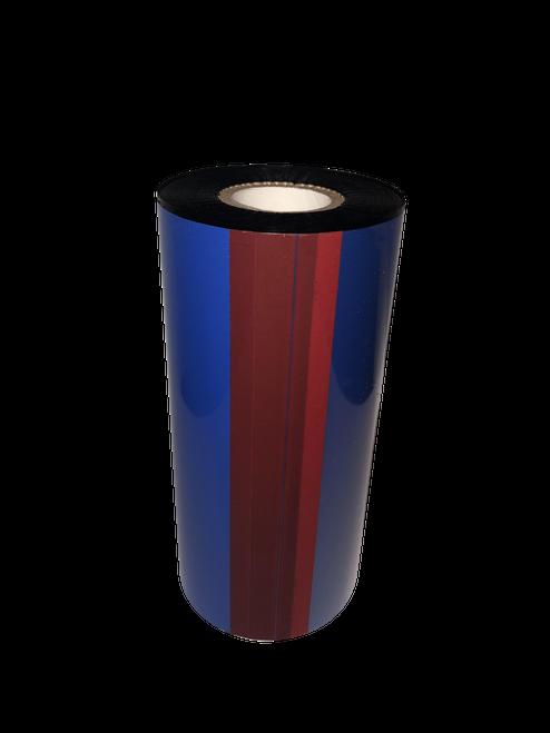 "Sato 4.33""x688 ft TR3022 Blue (286C) General Purpose Wax-6/Ctn thermal transfer ribbon"