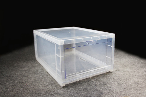Clear Shoe Box - 35.7cm x 28cm x 18.6cm - Storage Box | Display Box (99477)