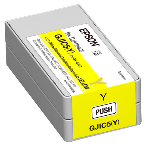 Epson GP-C831 Yellow Ink Cartridge GJIC5(Y)