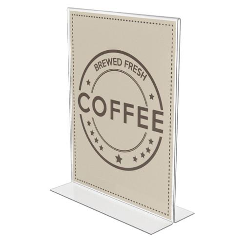 Deflecto Anti-glare, 8.5 x 11 Standup Sign Holder