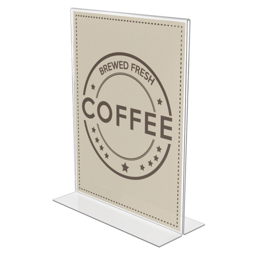 Deflecto Anti-glare, 8.5 x 11 Standup Sign Holder