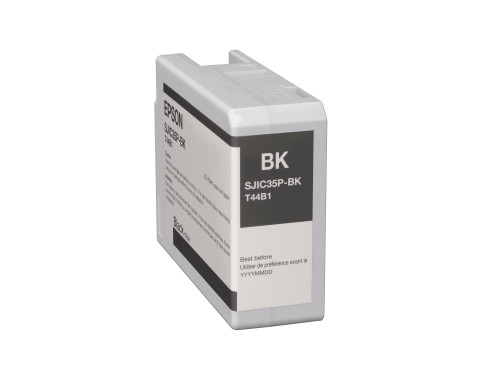 Epson SJIC35P(K) C6000/C6500 Ink Cartridge - Black (C13T44B120)