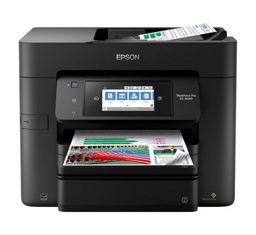 Epson WorkForce Pro EC-4040 Colour MFP Printer/24ppm/ 500-Sheet Capacity (C11CF75203)