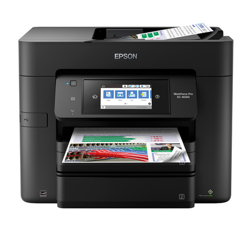 Epson WorkForce Pro EC-4040 Colour MFP Printer/24ppm/ 500-Sheet Capacity (C11CF75203)