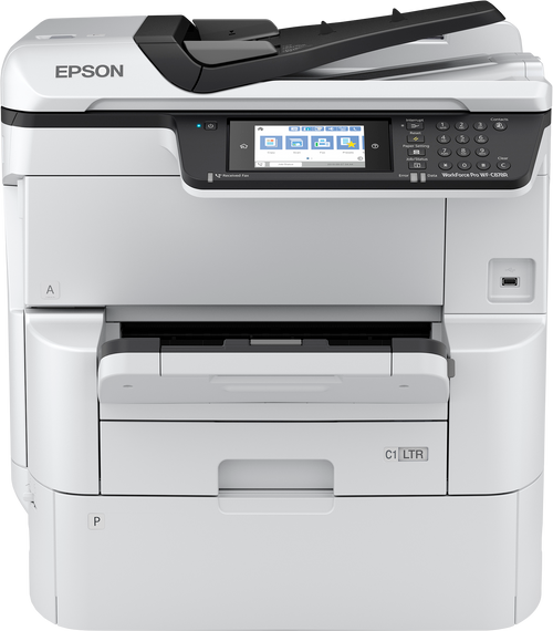 Epson WorkForce?? Pro WF-C878R A3 Multifunction Color Printer (C11CH60201)
