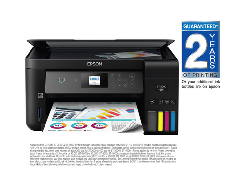 Epson WorkForce ST-2000 Colour MFP Supertank Printer (C11CG22202)