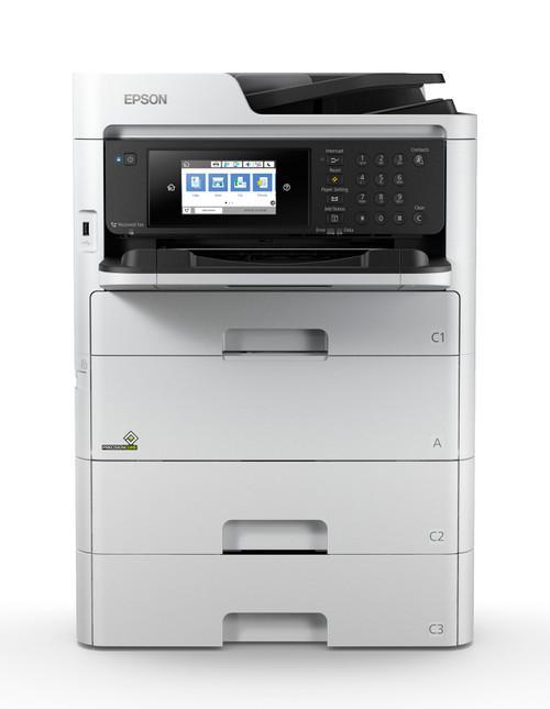 Epson WorkForce Pro WF-C527R Colour MFP Printer + Ink Bundle (C11CG77201-LB)