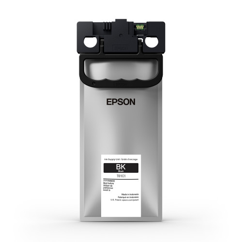 Epson T01C Black Ink Pack 10,000 Page Yield (T01C120)