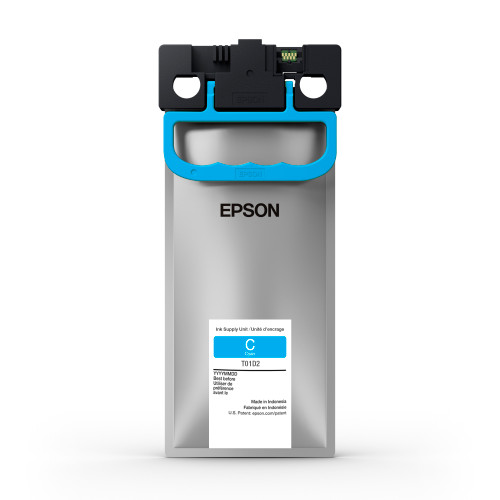 Epson T01D Cyan Ink Pack 20,000 Page Yield (T01D220)
