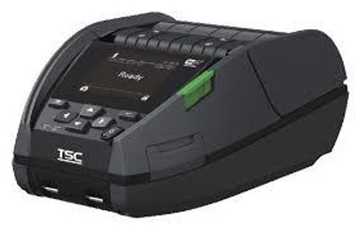 """TSC Alpha-40L 4.0"""" 203 dpi 5 ips Linerless Mobile Direct Thermal Label Printer A40L-A001-1011"""