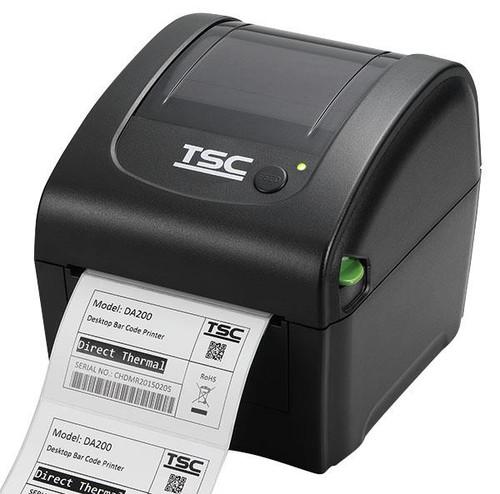"TSC DA210 4.0"" 203 dpi 6 ips Desktop Direct Thermal Label Printer 99-158A001-0001"