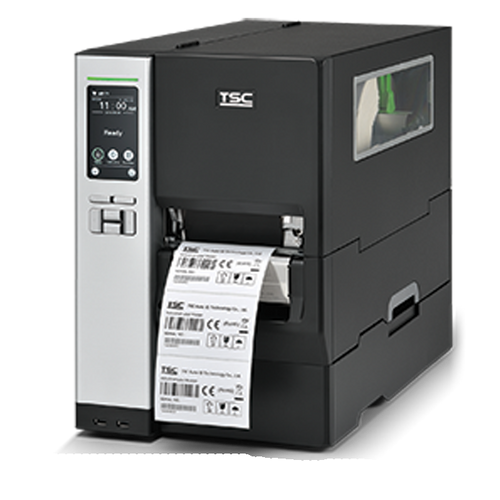 """TSC MH340T 4.0"""" 300 dpi 12 ips Industrial Thermal Transfer Label Printer 99-060A050-0301"""