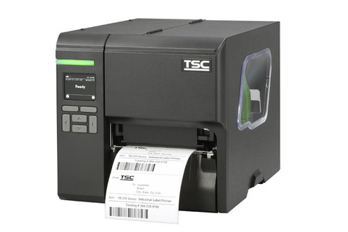 """TSC ML340P 4.0"""" 300 dpi 5 ips Industrial Thermal Transfer Label Printer 99-080A006-0301"""