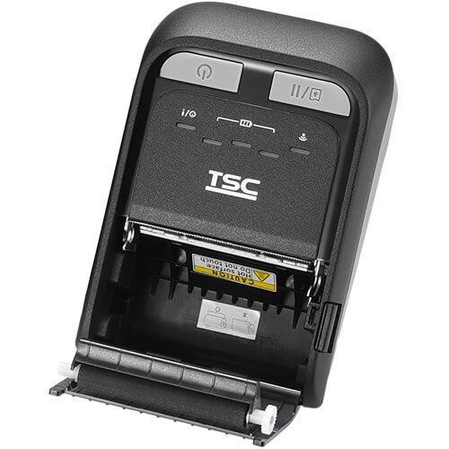 """TSC TDM-20 2.0"""" 203 dpi 4 ips Linerless Mobile Direct Thermal Label Printer 99-082A101-0011"""