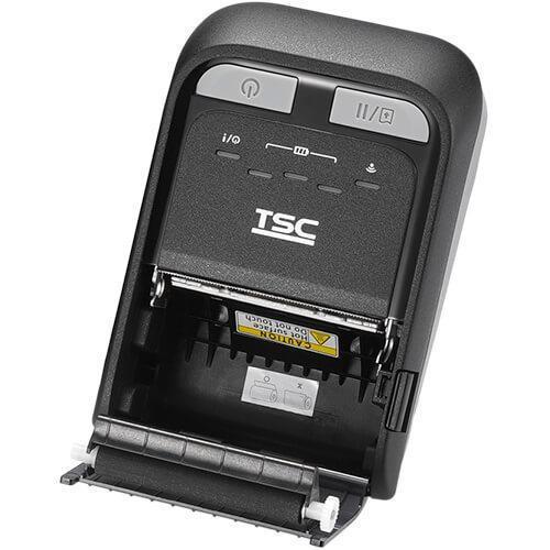 "TSC TDM-20 2.0"" 203 dpi 4 ips Mobile Direct Thermal Label Printer 99-082A201-0001"