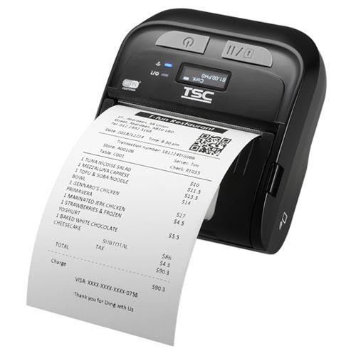 """TSC TDM-30 3.0"""" 203 dpi 4 ips Linerless Mobile Direct Thermal Label Printer 99-083A501-1051"""
