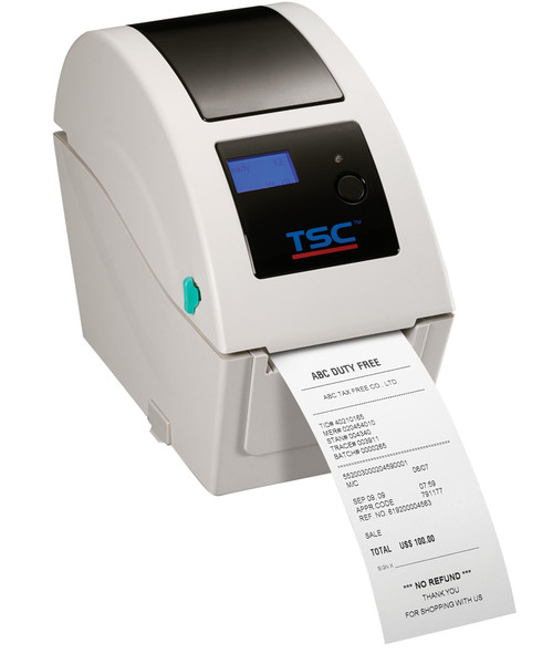 "TSC TDP-225W 2.0"" 203 dpi 5 ips Wristband Direct Thermal Label Printer 99-039A002-1301"