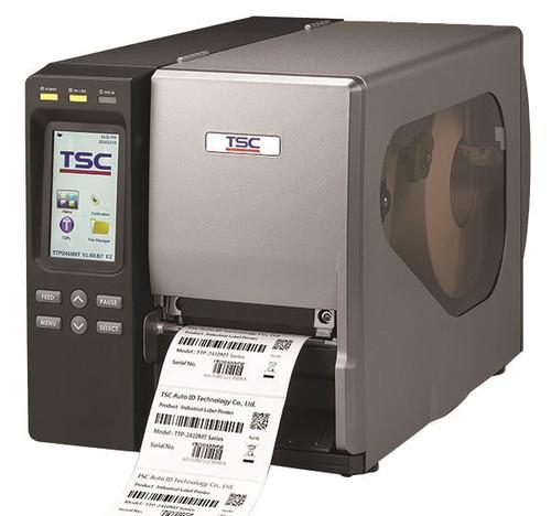 "TSC TTP-2410MT 4.0"" 203 dpi 14 ips Industrial Thermal Transfer Label Printer 99-147A031-0281"
