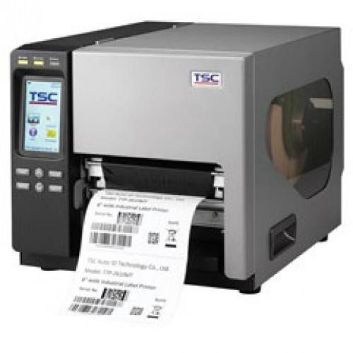 """TTP-2610MT with slot in housing  6"""" wide web thermal transfer label printer, WIFI READY 203 dpi, 12 ips, 4 ports - Ethernet, USB, Parallel, Serial, SD FLASH card reader, real time clock, USB-A Host interface."""